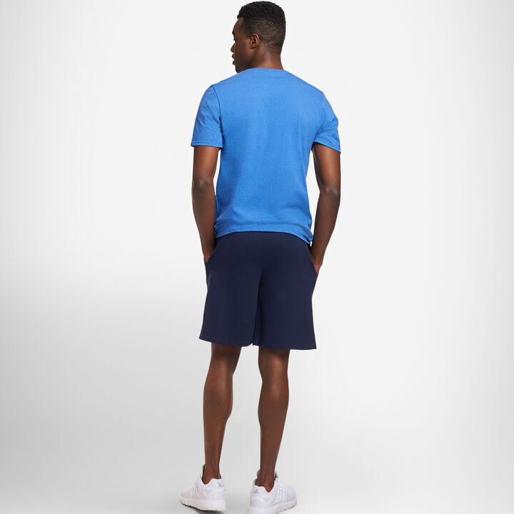 Men's Basic Jersey Cotton Shorts Navy