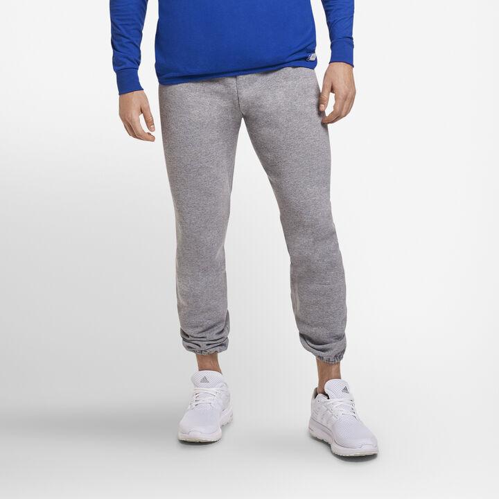 Men's Dri-Power® Closed Bottom Fleece Sweatpants (No Pockets) OXFORD
