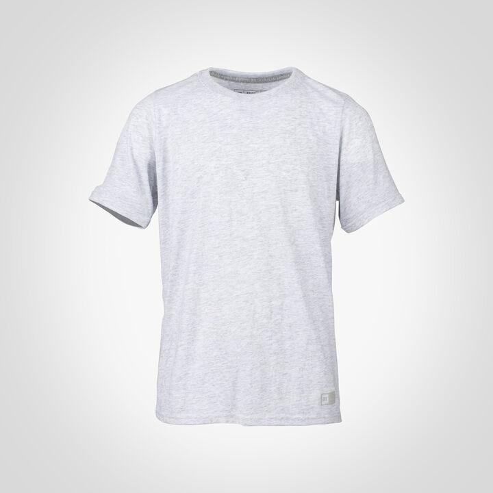 Youth Cotton Performance T-Shirt ASH