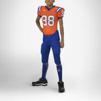 Youth Integrated 7-Piece-Pad Football Pants ROYAL