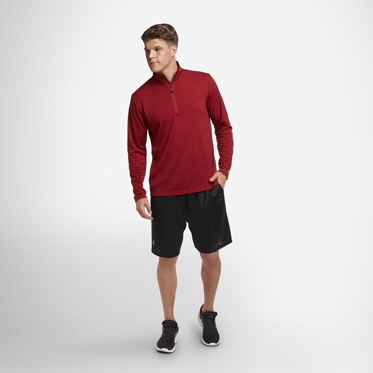 Men's Dri-Power® Lightweight Performance 1/4 Zip CARDINAL