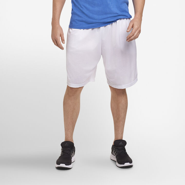 Men's Dri-Power® Mesh Shorts WHITE