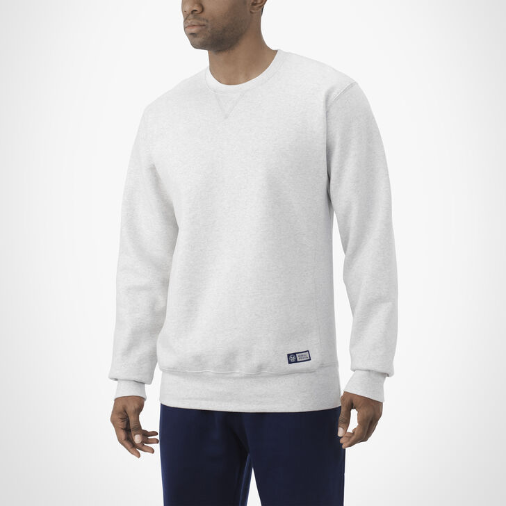 Men's Pro10 Fleece Crew Sweatshirt BIRCH