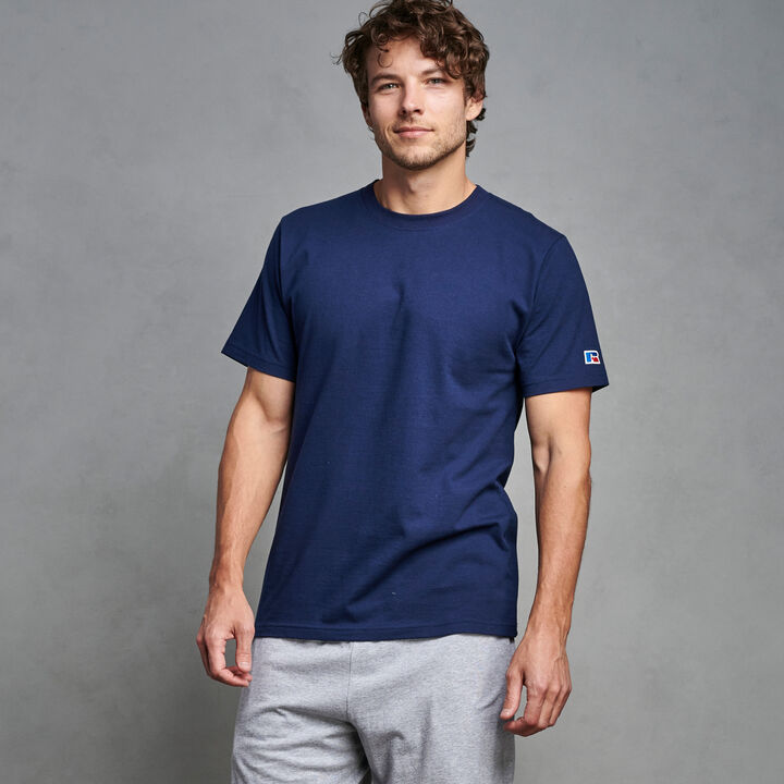 Men's Premium Cotton Classic T-Shirt NAVY