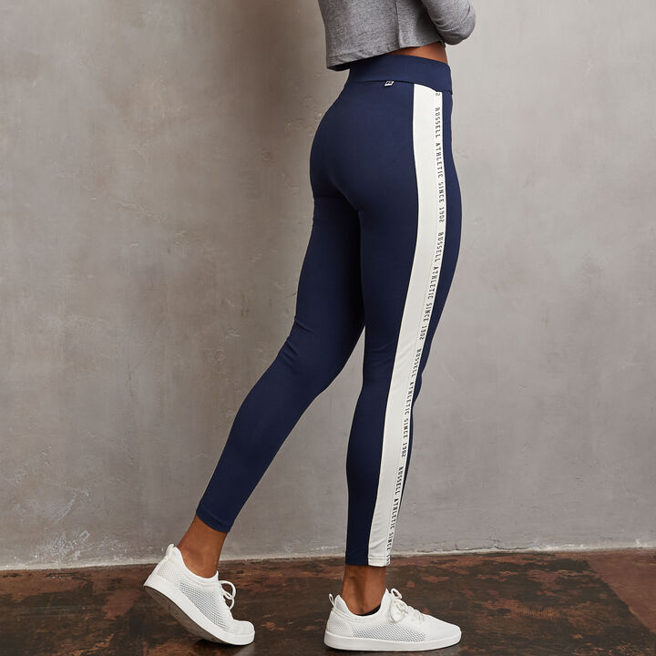 Women's Heritage High Waisted Twill Tape Leggings NAVY