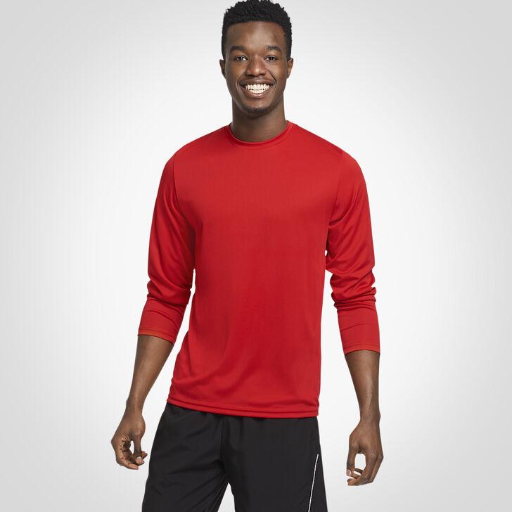 Men's Dri-Power® Core Performance Long Sleeve Tee TRUE RED