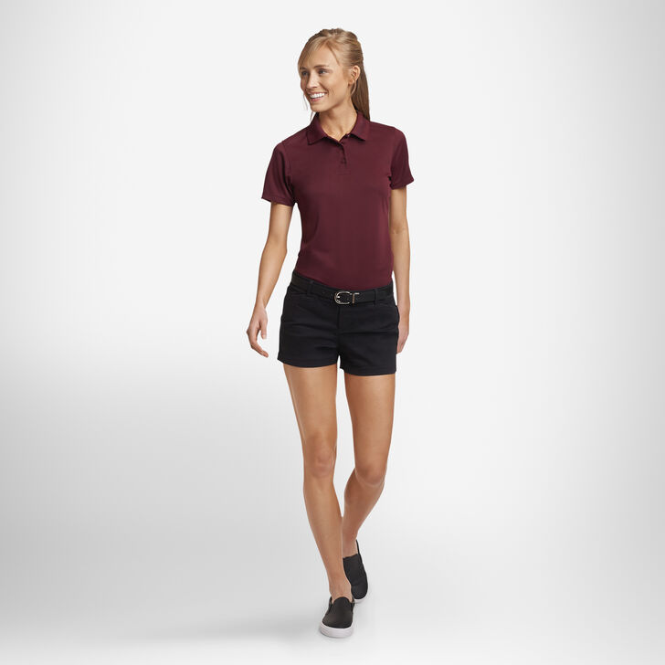 Women's Dri-Power® Performance Golf Polo MAROON