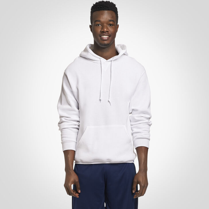 Men's Dri-Power® Fleece Hoodie White