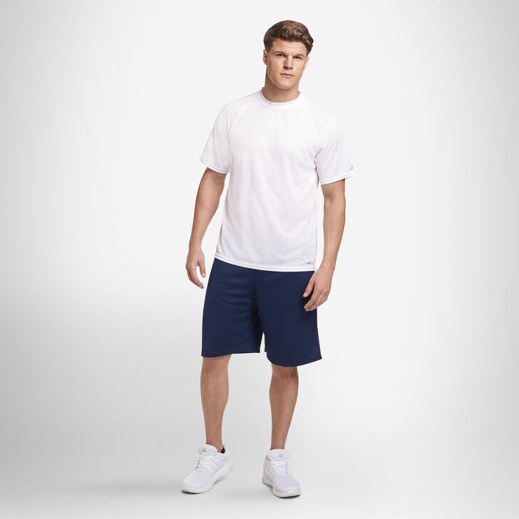 Men's Dri-Power® Mesh Performance T-Shirt WHITE