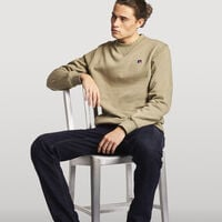 Men's Frank Crew Sweatshirt DRY GRASS