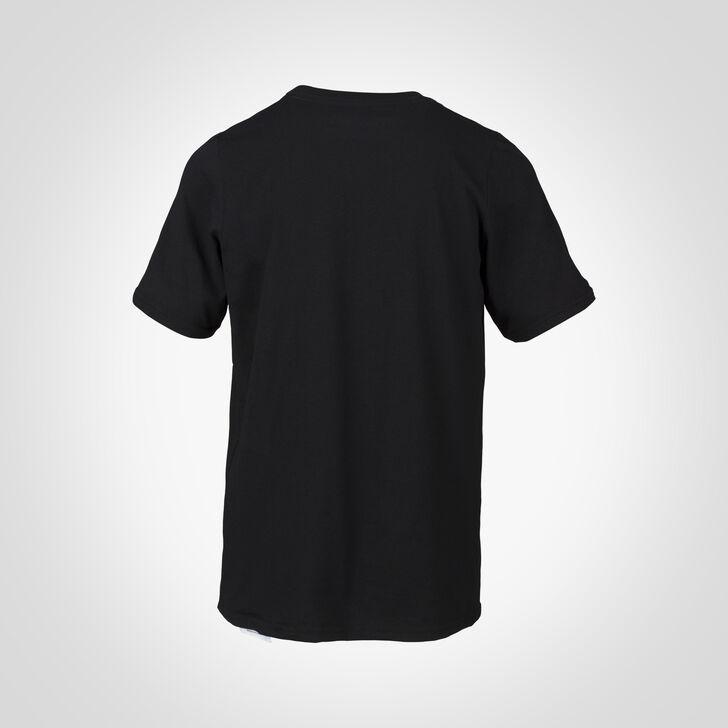 Youth Cotton Performance T-Shirt BLACK