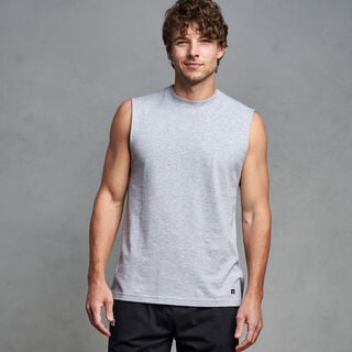Men's Premium Cotton Classic Muscle ATHLETIC HEATHER