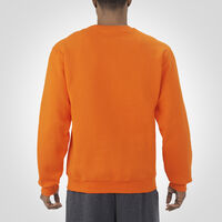 Men's Dri-Power® Fleece Crew Sweatshirt BURNT ORANGE
