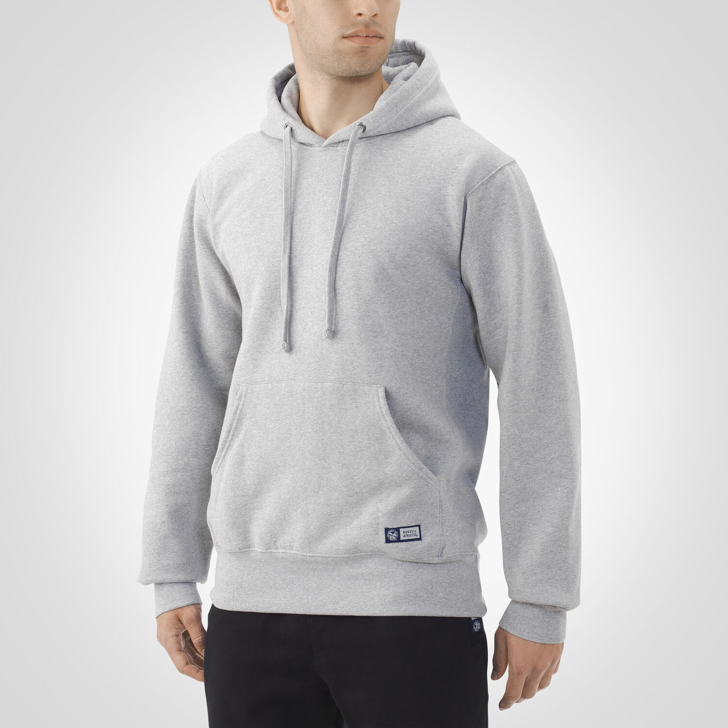 Mens Pro10 Fleece Hoodie Russell Us Athletic Sweater 10 Oxford