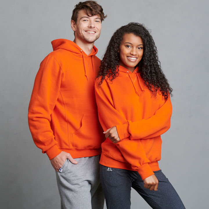 Men's Dri-Power® Fleece Hoodie BURNT ORANGE