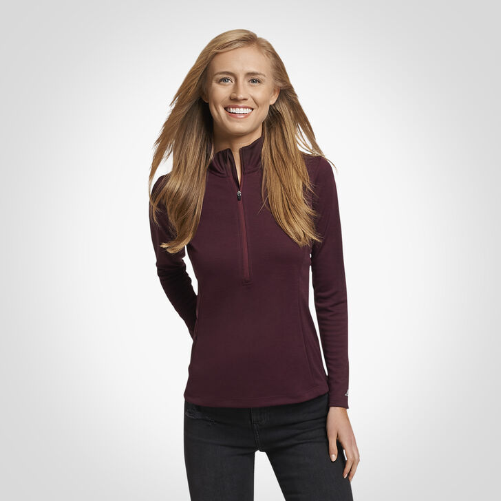Women's Dri-Power® Lightweight 1/4 Zip Pullover MAROON