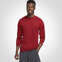 Men's Dri-Power® Core Performance Long Sleeve Tee CARDINAL