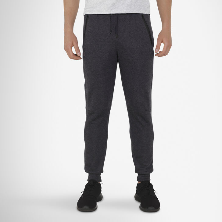 Men's Cotton Rich Fleece Jogger CHARCOAL GREY HEATHER