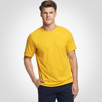 Men's Cotton Performance Tee GOLD
