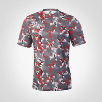 Men's Dri-Power® Camokaze Performance Tee TRUE RED CAMO-KAZE
