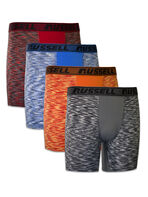 Boys' Freshforce Odor Protection Peformance Long Leg Boxer Briefs (4 Pack)