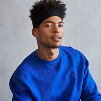 Men's Heritage Fleece Crew Sweatshirt MAZARINE BLUE