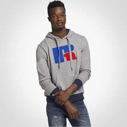 Russell Athletic Carleton French Terry Hoodie GREY MARL