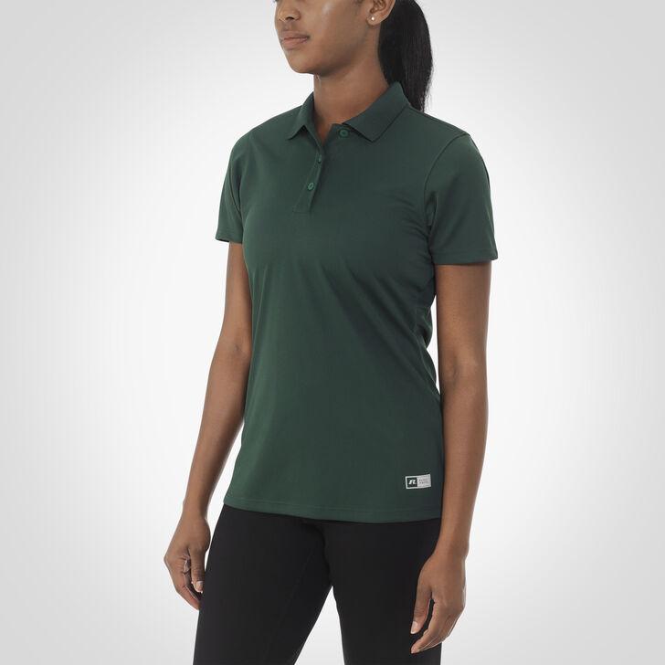 Women's Dri-Power® Short Sleeve Essential Polo DARK GREEN