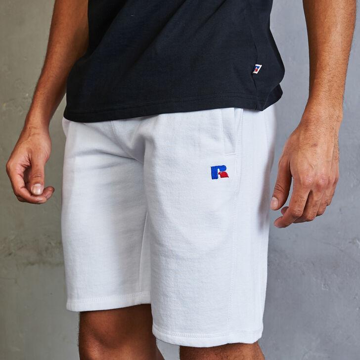 Men's Heritage Athletic Fleece Shorts WHITE
