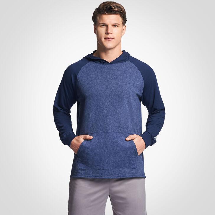 Men's Cotton Performance Lightweight Hoodie VINTAGE NAVY/NAVY