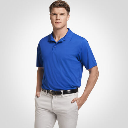 b6378c7d08 Men's Polo Shirts: Short Sleeve Performance Polo Shirts | Russell ...