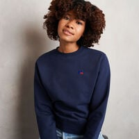 Women's Heritage Fleece Crew Sweatshirt NAVY