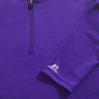 Men's Dri-Power® Lightweight Performance 1/4 Zip PURPLE