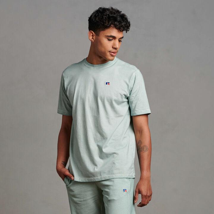 Men's Baseliner T-Shirt Blue Fog