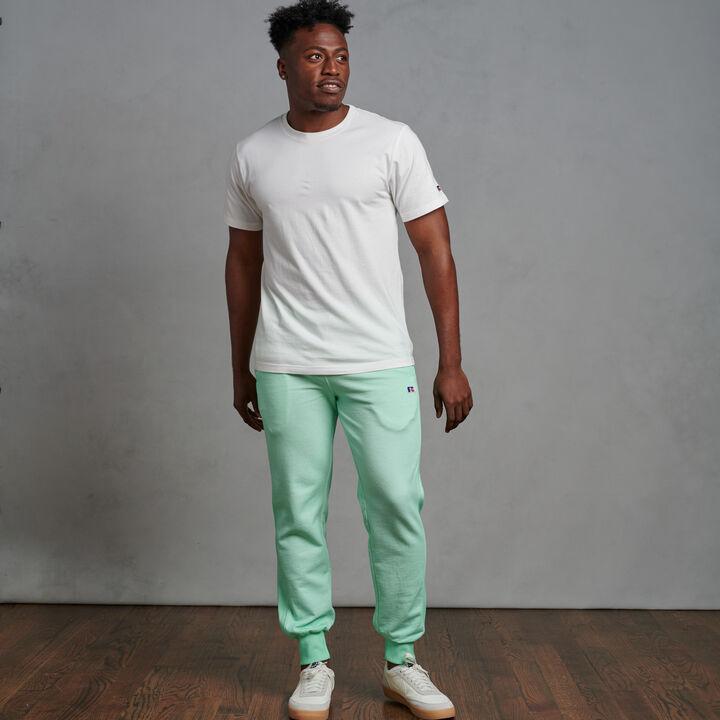 Men's Garment Dyed Frech Terry Jogger Mint
