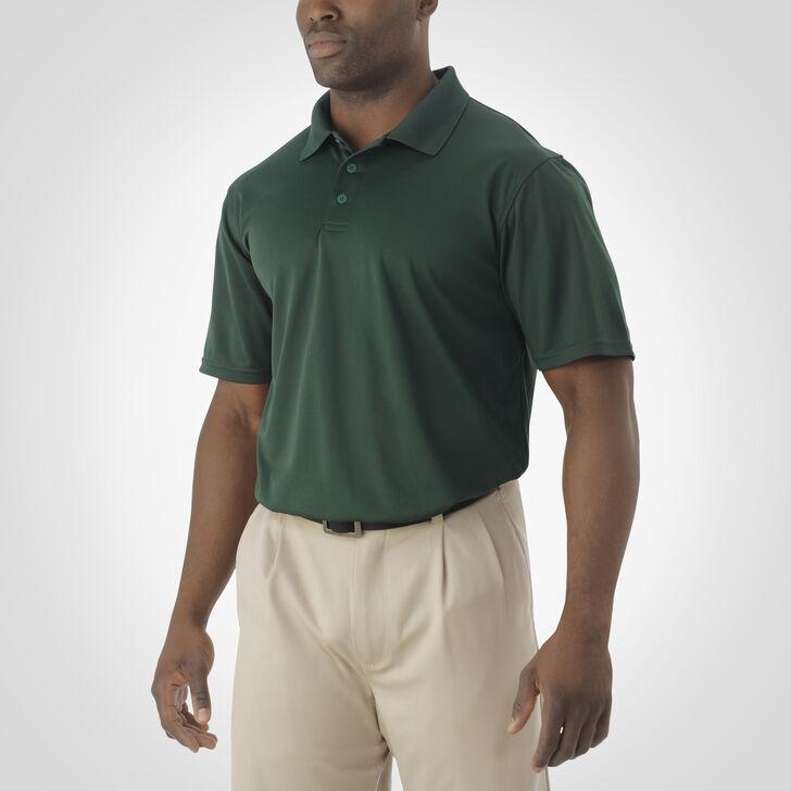 Men's Dri-Power® Essential Short Sleeve Polo DARK GREEN