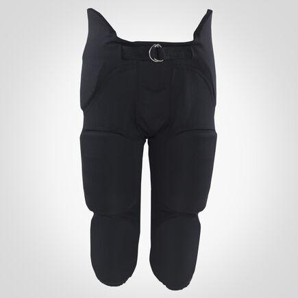 Men's Integrated 7-Piece-Pad Football Pants BLACK