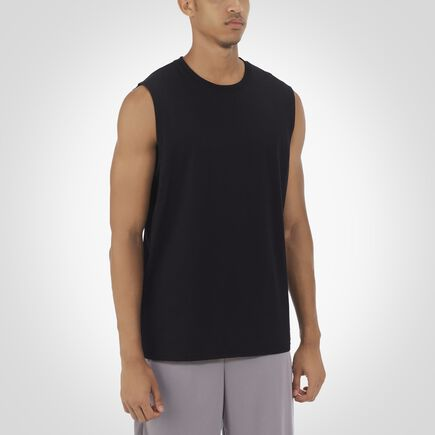 Men's Essential Muscle Tee BLACK