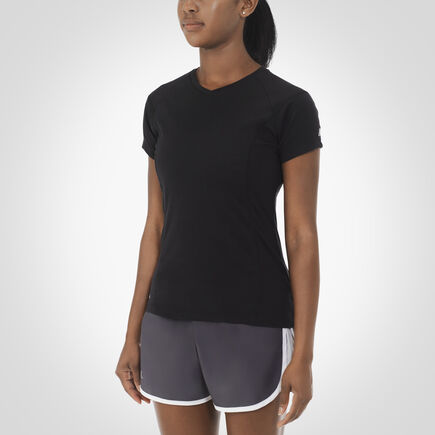 Women's Dri-Power® Player's Tee BLACK
