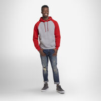 Men's Dri-Power® Fleece Colorblock Hoodie