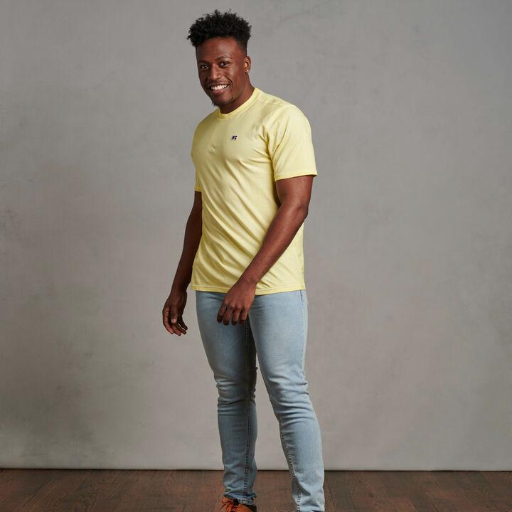 Men's Baseliner T-Shirt Spring Yellow