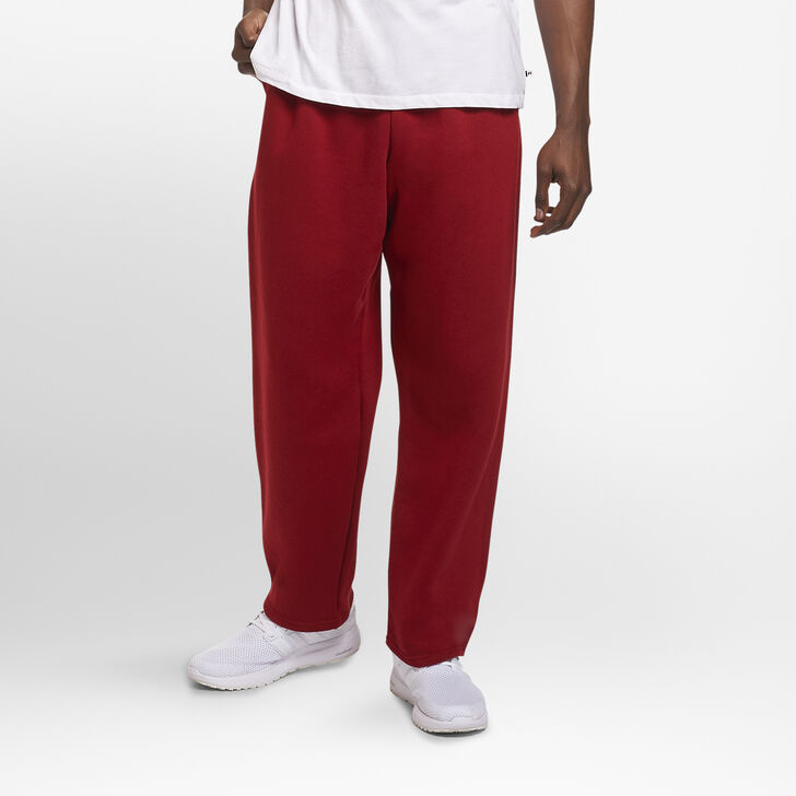 Men's Dri-Power® Open-Bottom Sweatpants with Pockets Cardinal