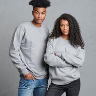 Men's Cotton Rich 2.0 Premium Fleece Sweatshirt Medium Grey Heather