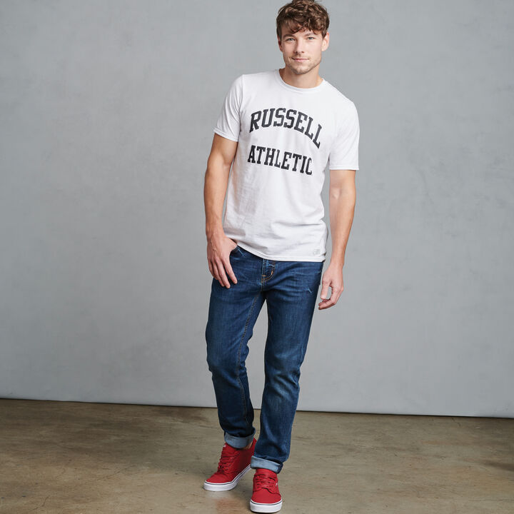 Men's Arch Graphic T-Shirt WHITE