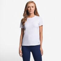 Women's Cotton Performance Tee WHITE