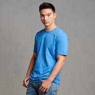 Men's Cotton Performance T-Shirt Collegiate Blue