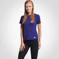 Women's Cotton Performance T-Shirt PURPLE