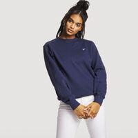 Women's Relaxed Frank Crew Sweatshirt NAVY