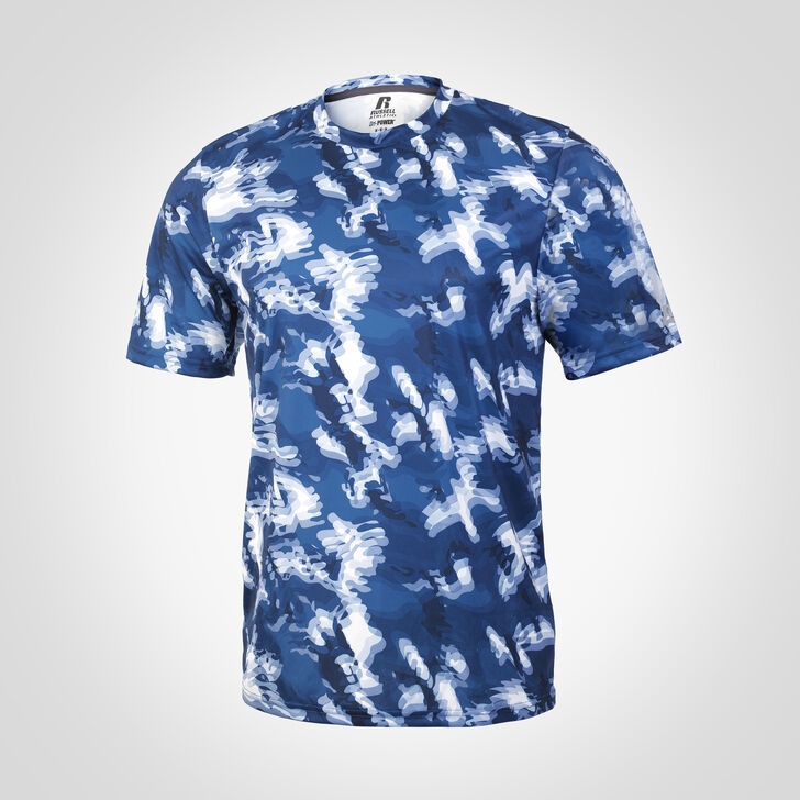 Men's Dri-Power® Camokaze Performance Tee NAVY CAMO-KAZE