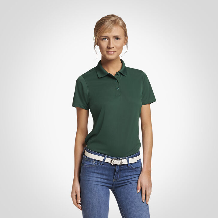 Women's Dri-Power® Performance Golf Polo DARK GREEN